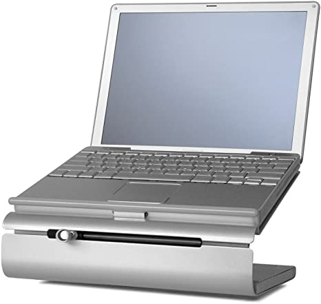 Patented Rain Design mStand360 Laptop Stand with Swivel Base |Standard|0|0|0|Disc|Disc Gold