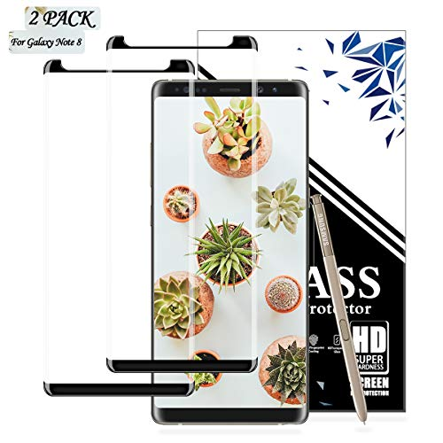 EESHELL for Galaxy Note 8 Screen Protector, [2 Pack] Premium HD Clear...