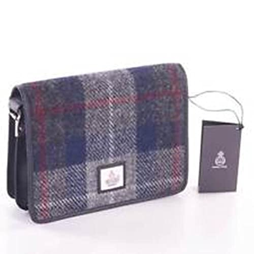 95c234edaf98 Maccessori Harris Tweed Shoulder Bag - Blue Check  Amazon.co.uk  Shoes    Bags