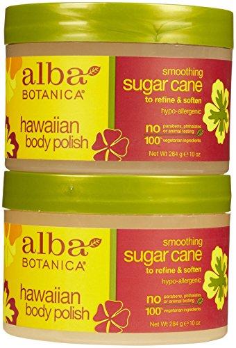 Alba Botanica Hawaiian Body Polish - Sugar Cane - 10 oz - 2 pk ()