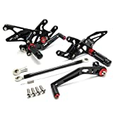 08-14 CBR 1000RR Rearsets CNC Adjustable Foot Pegs Rear Sets for Honda CBR1000RR 2008-2014