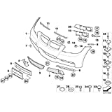 BMW Genuine Flap Towing Eye Tow Hook Cover Primed E90 E91 3 Series 51118041133