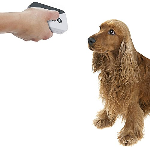 BarkStopper Ultrasonic and audible bark deterrent device.