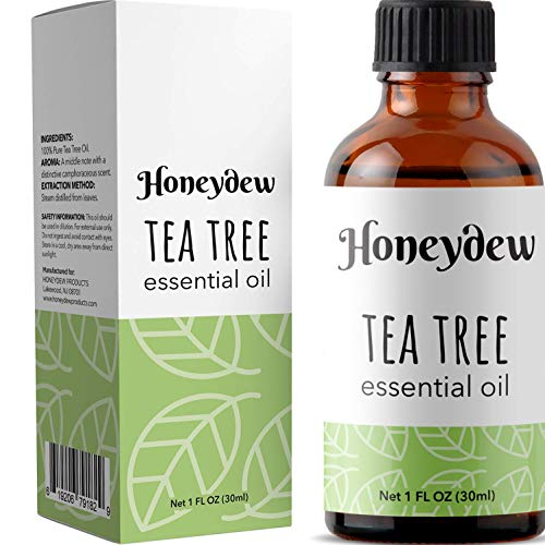 Tea Tree Oil Essential Oil - Pure Tea Tree Oil for Acne Fungal Nail Treatment Armpit Detox Foot Wash and Hair Skin Nail Health - 100% Tea Tree Oil Pure Aromatherapy Essential Oils for Diffuser