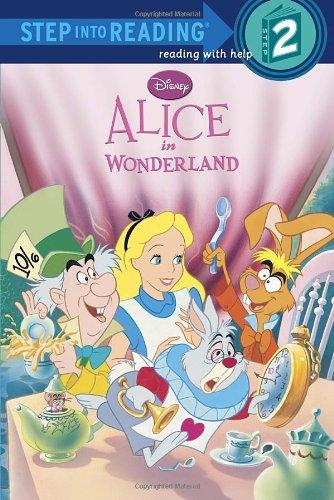 Alice in Wonderland (Disney Alice in Wonderland) (Step into Reading) (Alice In Wonderland Shop)