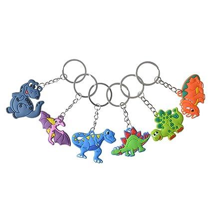 Amazon.com: Rantanto - Llavero de dinosaurio, 12 piezas ...