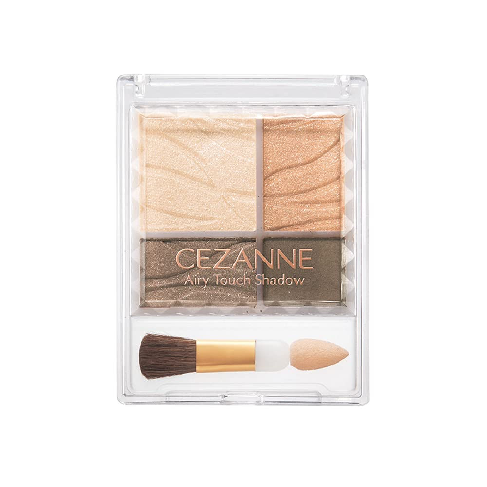 CEZANNE Airy touch Eye shadow 01(Beige Brown)