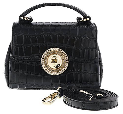 Versace EE1VRBBO7 Black Crossbody Bag for Women, used for sale  Delivered anywhere in USA