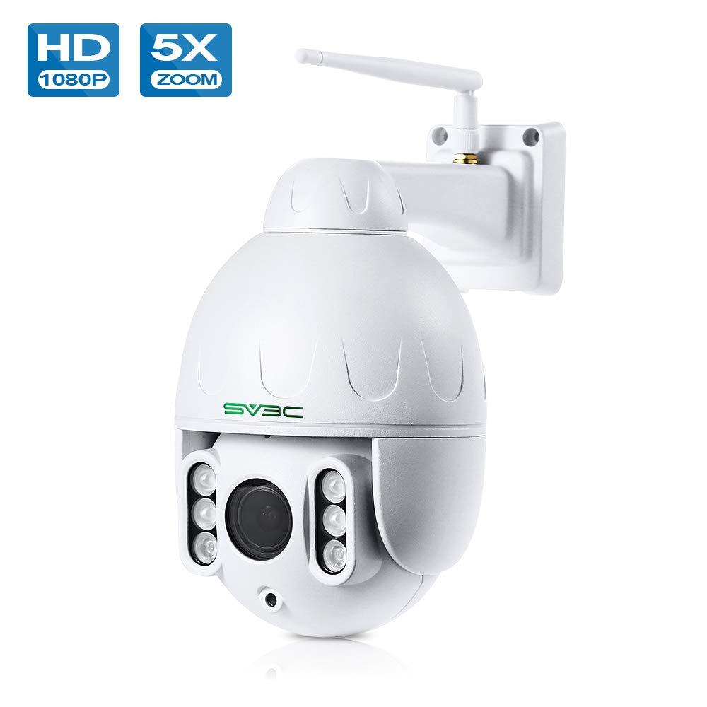 Amazon.com: SV3C PTZ WiFi Camera Outdoor, 1080p Wireless ...