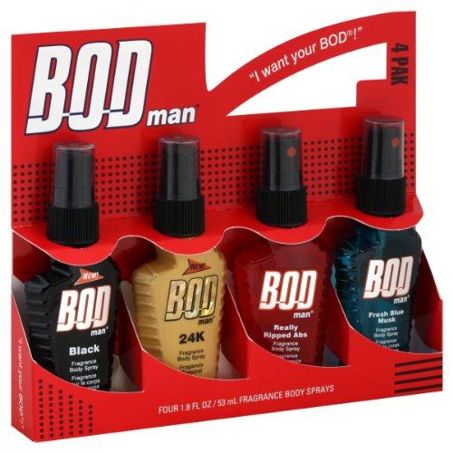 BOD Man Body Sprays, Fragrance (Body Sporty)