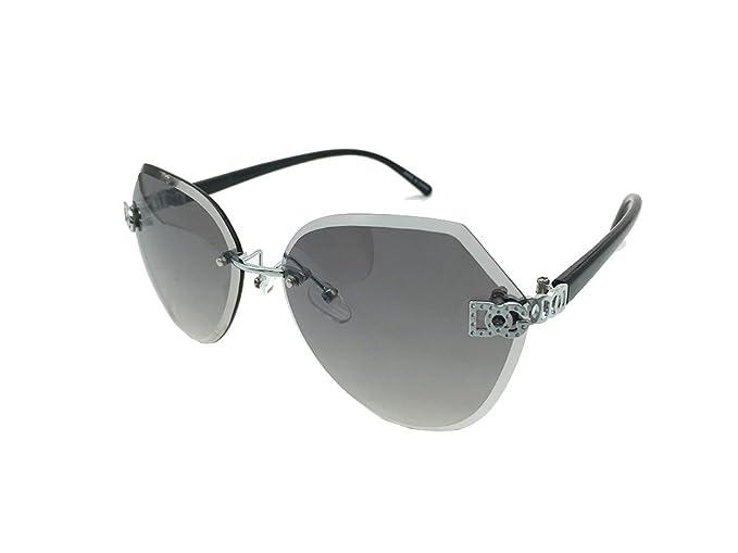 Amazon.com: Love DG Eyewear para mujer sin montura de corte ...