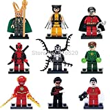 18 Piece Iron Man Batman Building Block Marvel Super Heroes Avengers No orignial box new in sealed bag