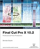 Final Cut Pro X 10.2 - Apple Pro Training Series: Professional Post-Production, Access Code Card