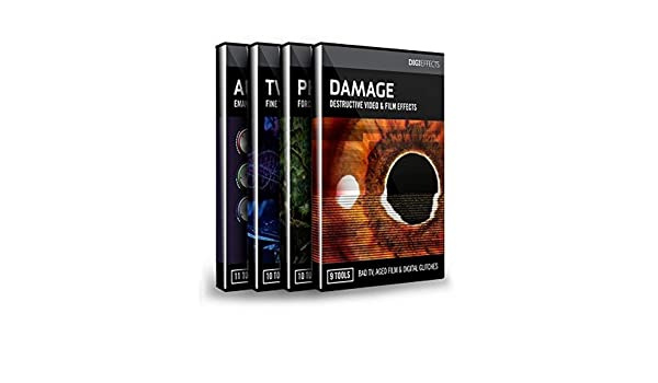 Amazon.com: Digieffects DIGISUITE | Damage Phenomena Tweak Aura Video Effects Software Download Only: Computers & Accessories
