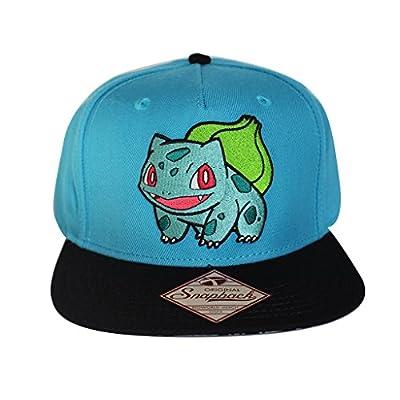 Bioworld Men's Licensed Pokemon - Bulbasaur Snapback Hat O/S Blue