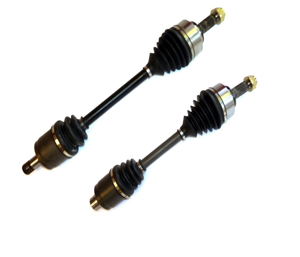 DTA HO23312332 front Left Right Pair - 2 New Premium CV Axles (Drive Axle Assembly) Fits 2006-2011 Honda Civic Si 2.0L 6spd Manual Trans Only DRIVE TECH AMERICA