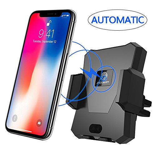 Wireless Car Charger, MAGQI Automatic Qi Wireless...