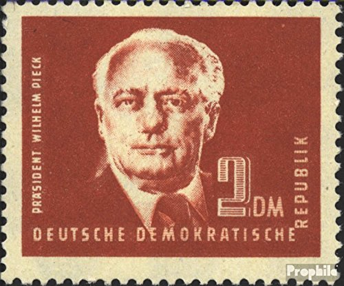 DDR 254cb tested unmounted mint / never hinged 1950 President William Pieck (I) (Stamps for collectors)