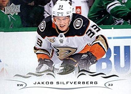 1bd1b716c37 Amazon.com: 2018-19 Upper Deck #252 Jakob Silfverberg Anaheim Ducks ...
