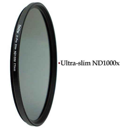 3 opinioni per DolDer Filtro neutro 3.0 (ND1000) per fotocamere digitali 72 mm