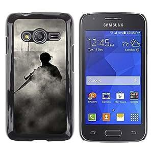 iKiki Tech / Estuche rígido - Soldier Smoke Sniper - Samsung Galaxy Ace 4 G313 SM-G313F