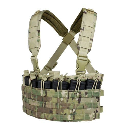 Condor Outdoor Rapid Assault Chest Rig (Multicam/Tactical Vest)