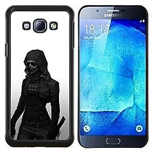 Stuss Case / Funda Carcasa protectora - Oscuro Goth Mujer - Samsung Galaxy A8 A8000