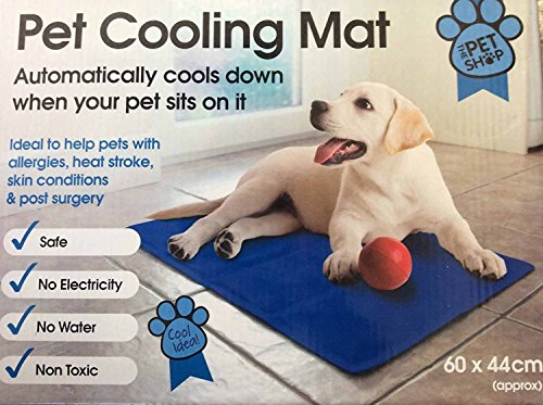 Mega_Jumble Self Cooling Gel Pet Dog Cat Cool Mat Pad Bed Mattress Heat...