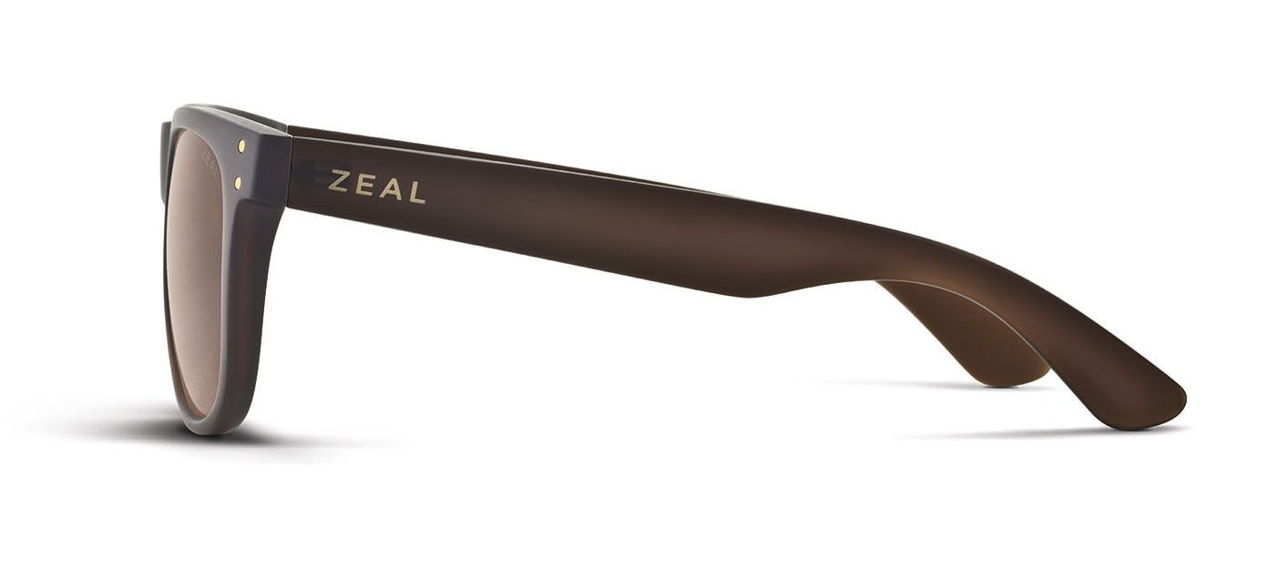 Zeal Optics Unisex Ace Bombay Brown W / Copper Polarized Lens Sunglasses by Zeal (Image #3)