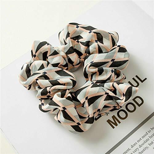 MOPOLIS Hair Accessories Elastic Hair Rope Ponytail Holder Scrunchie Print Hair Band | Size - 29