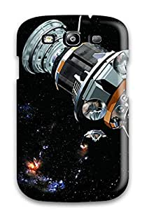 AnnaSanders Galaxy S3 Hybrid Tpu Case Cover Silicon Bumper Satellite Iv D Digital Art Design