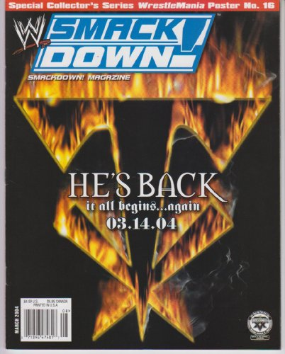WWE Smackdown Magazine March 2004 ()