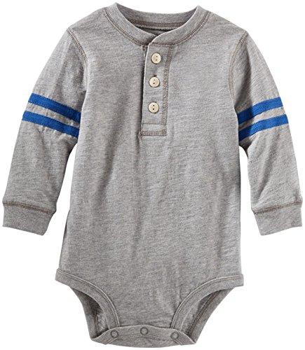 OshKosh B'Gosh Baby Boys' Henley Bodysuit (Baby)