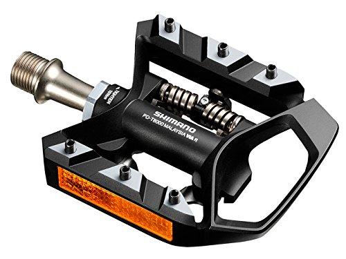 Shimano Deore XT PD-T8000 SPD Trekking MTB Bike Bicycle Track Pedals Set Clipless 9//16 SM-SH56 Cleats Retail Package