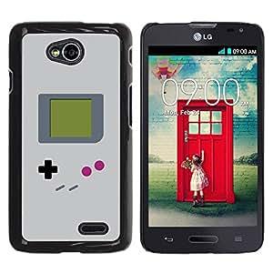 Paccase / SLIM PC / Aliminium Casa Carcasa Funda Case Cover para - Video Game Retro Art Painting - LG Optimus L70 / LS620 / D325 / MS323