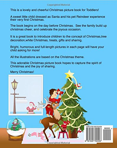 Where Is Santa Childrens Christmas Picture Book Claus Books For Toddlers Sujatha Lalgudi