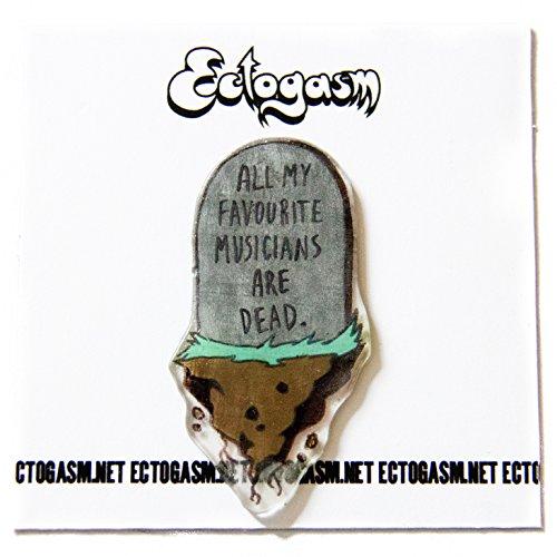 Punk Rock Music Hat Pin