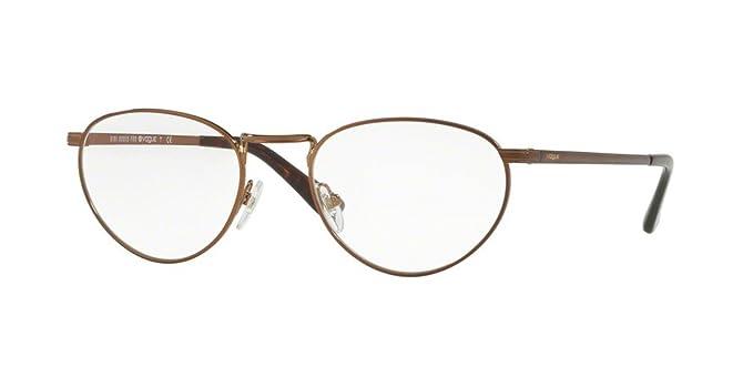 Vogue VO4084 Eyeglass Frames 5074-52 - Copper / Light Brown VO4084 ...