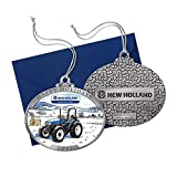 New Holland 2017 Tractor Pewter Ornament