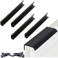 Meubelgrepen Kasthandvatten zwart aluminium Gatenafstand 96mm Deurgrepen Keukenstanggreep Kastgrepen Ladehandgrepen…