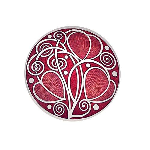 (Handmade Celtic Mackintosh Round Shaped Brooch)