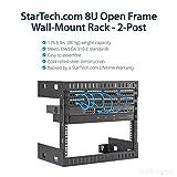 StarTech.com 8U Open Frame Wall Mount Network