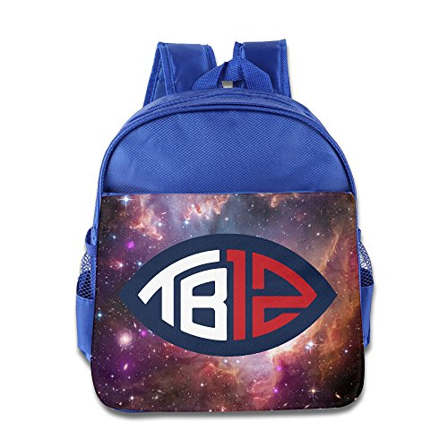 - Free Brady TB12 Kids Backpack School Bag For Boys/girls RoyalBlue