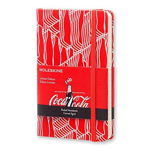 Moleskine notebook limited edition Coca-Cola