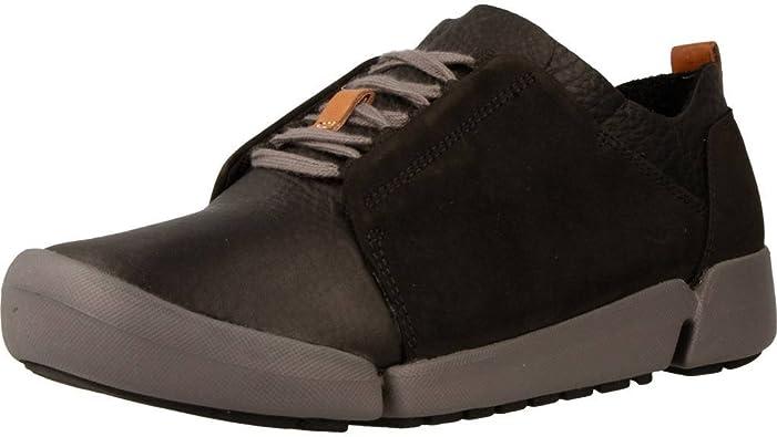 plátano Comenzar Marco de referencia  Clarks Casual Mujer Zapatos Tri Bella En Piel Negro, Negro, 39.5 EU:  Amazon.es: Zapatos y complementos