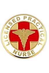 Licensed Practical Nurse LPN Lapel Pin