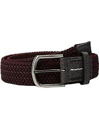 TravisMathew Men's Pivot Dark Burgundy/Dark Grey Belt