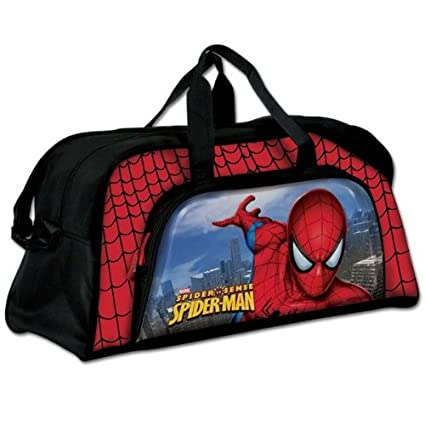 Amazon.com : Bolsa Deporte Grande Spiderman Marvel : Office ...