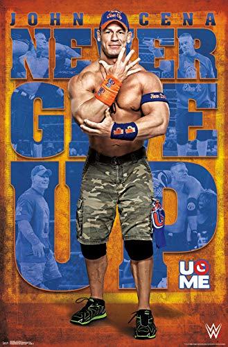 Trends International WWE-John Cena 17 Mount Bundle Wall Poster, 22.375