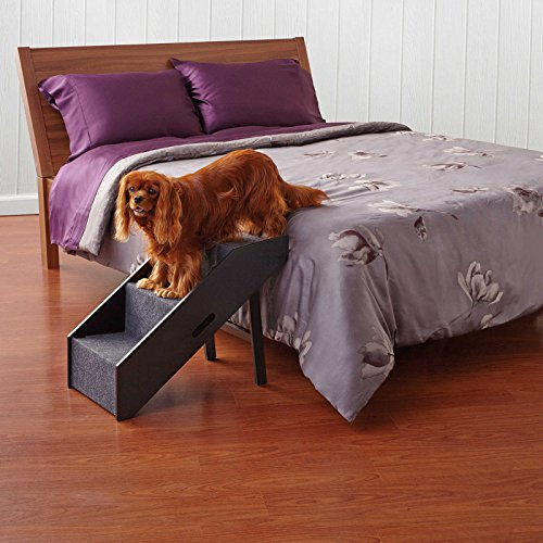 Pet Step Convertible Portable Stairs Ramp Dog Cat Easy Fold Folding Home Bed by PawsLife
